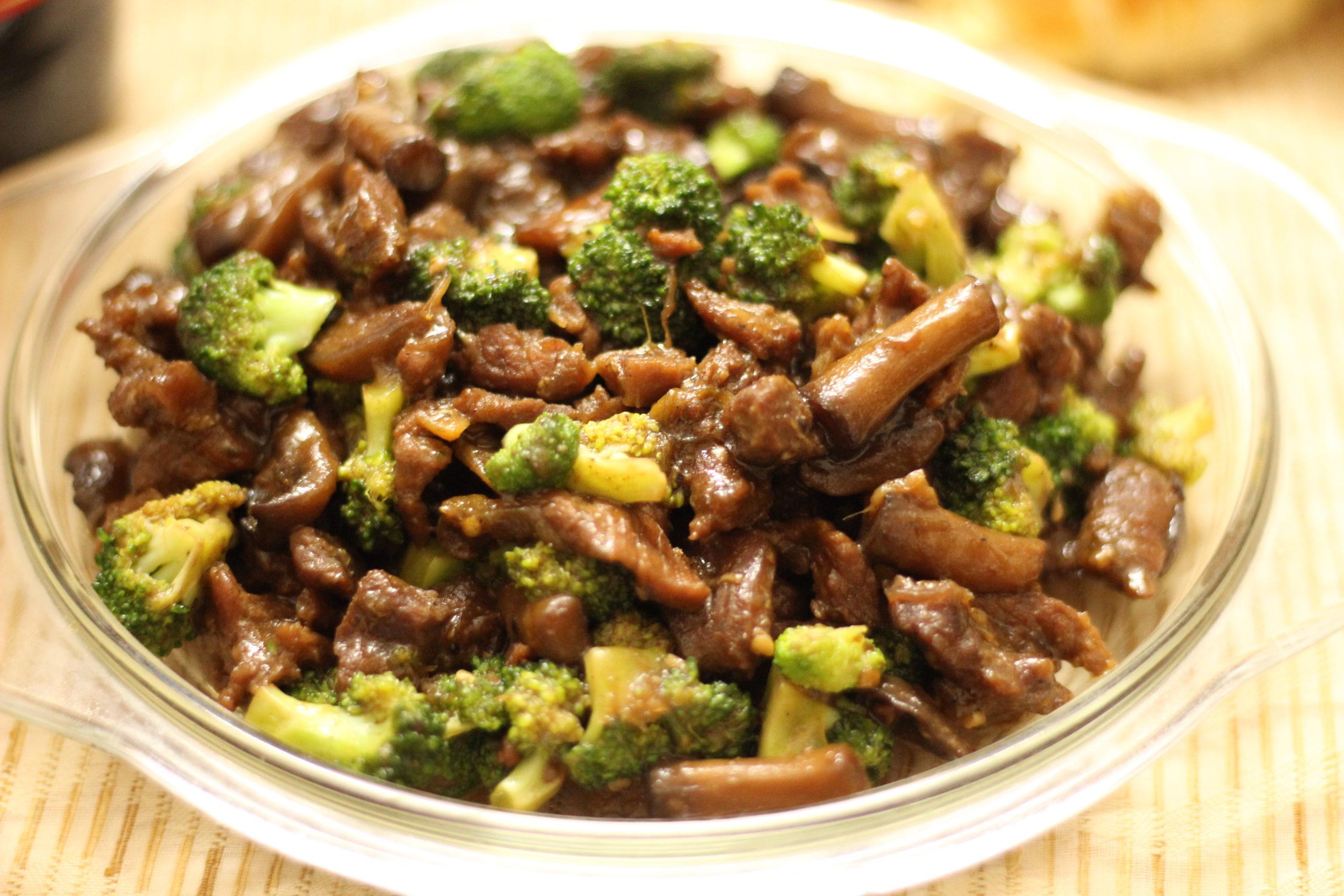 Meat Broccoli Stir Fry